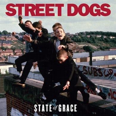 Street Dogs STATE OF GRACE (RED VINYL) Vinyl Record