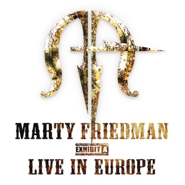 Marty Friedman LIVE IN EUROPE CD