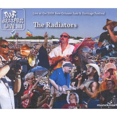 Radiators JAZZ FEST 2008 CD