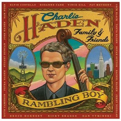 Charlie Haden FAMILY & FRIENDS: RAMBLING BOY CD