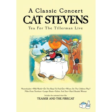 Yusuf / Cat Stevens TEA FOR THE TILLERMAN LIVE DVD