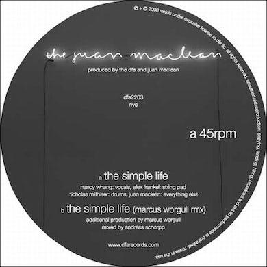 The Juan McLean SIMPLE LIFE Vinyl Record