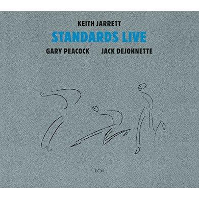 Keith Jarrett STANDARDS LIVE: TOUCHSTONES SERIES CD