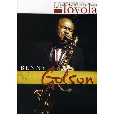 Benny Golson JAZZ MASTER CLASS SERIES FROM NYU DVD
