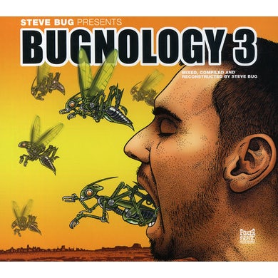 Steve Bug BUGNOLOGY 3 CD