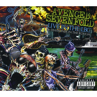 Avenged Sevenfold LIVE IN THE LBC & DIAMONDS IN THE ROUGH CD