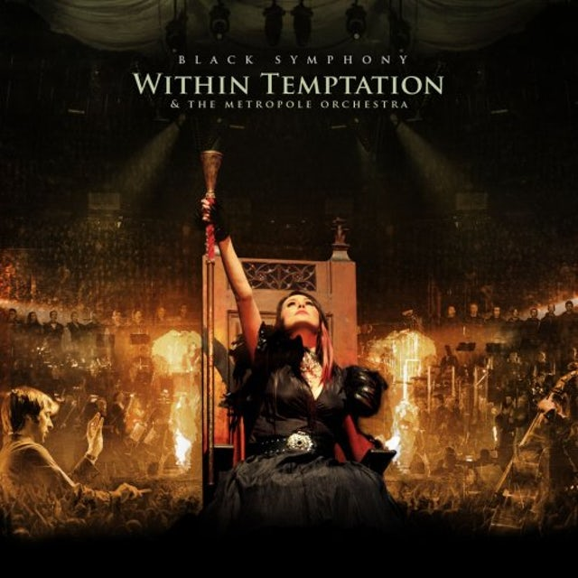Within Temptation BLACK SYMPHONY CD