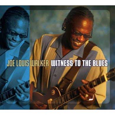 Joe Louis Walker WITNESS TO THE BLUES CD