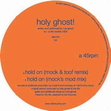 Holy Ghost! HOLD ON: REMIX Vinyl Record