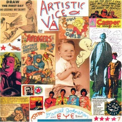 Daniel Johnston ARTISTIC VICE CD