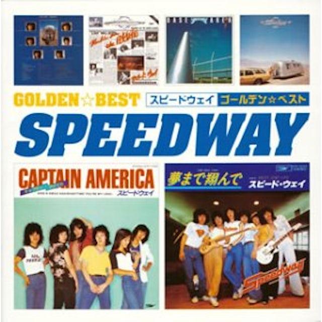 Speedway GOLDEN BEST CD