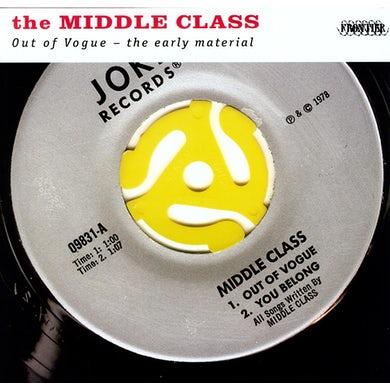 Middle Class OUT OF VOGUE: THE EARLY MATERIAL Vinyl Record