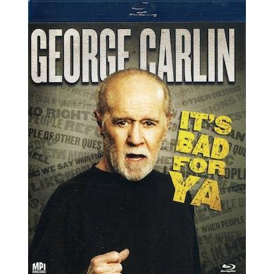 George Carlin IT'S BAD FOR YA Blu-ray