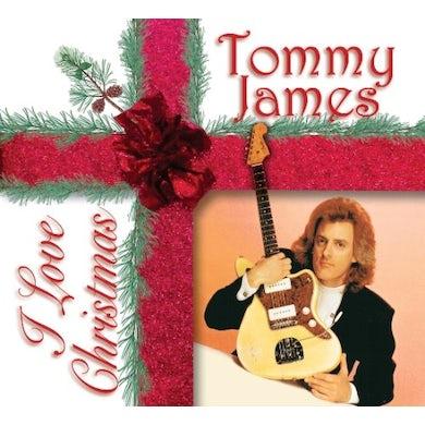 Tommy James I LOVE CHRISTMAS CD