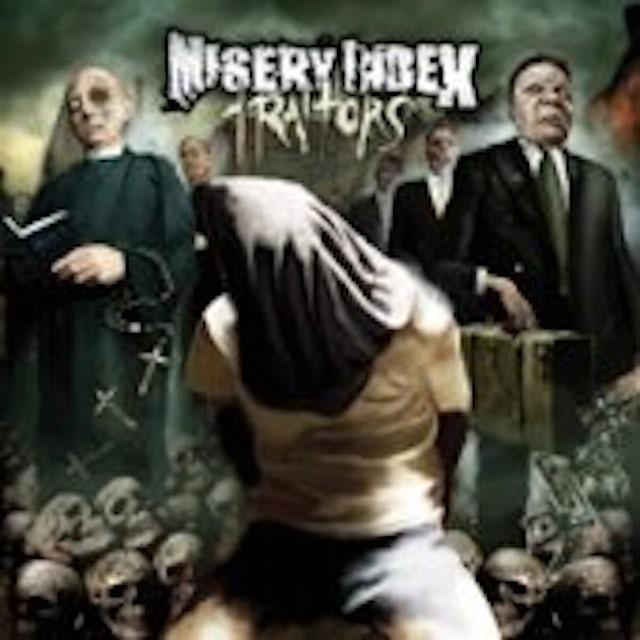 Misery Index TRAITORS Vinyl Record