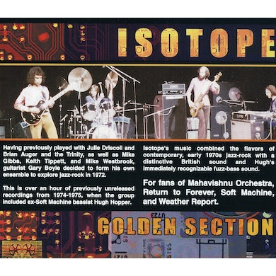 Isotope GOLDEN SECTION CD