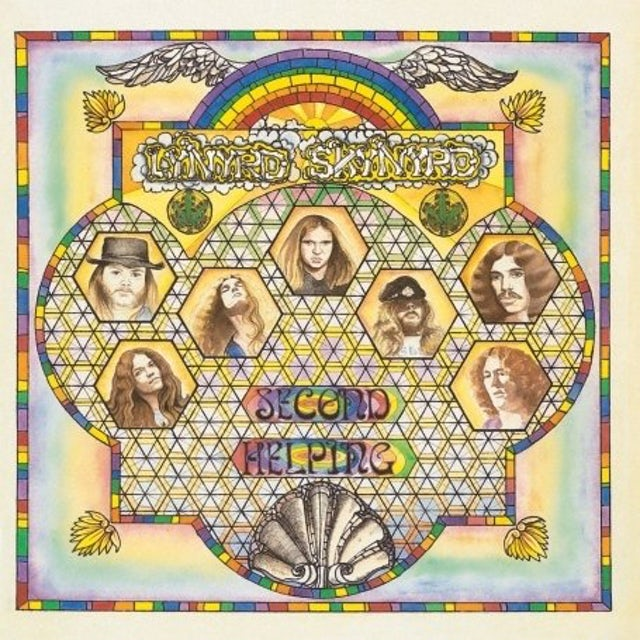 Lynyrd Skynyrd SECOND HELPING Vinyl Record - 180 Gram Pressing