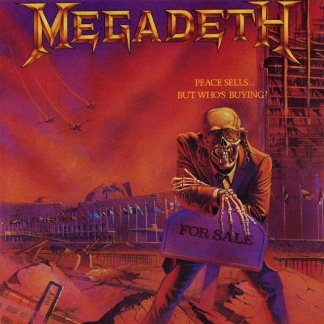 Megadeth PEACE SELLS BUT WHO'S BUYING Vinyl Record