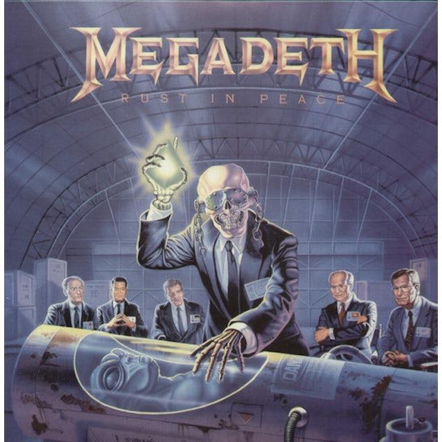 Megadeth RUST IN PEACE Vinyl Record