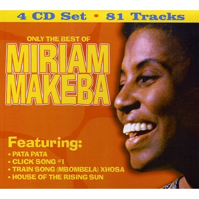 Miriam Makeba ONLY THE BEST OF CD