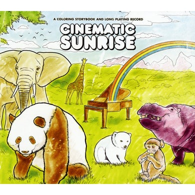Cinematic Sunrise COLORING STORYBOOK & LONG PLAYING RECORD CD