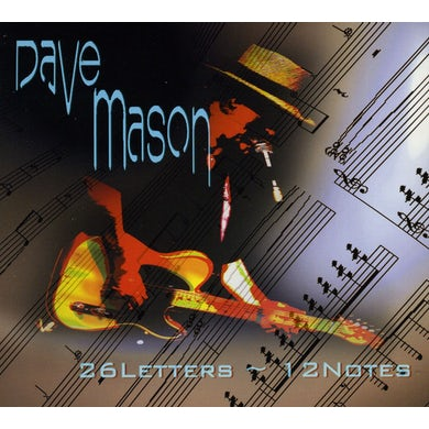 Dave Mason 26 LETTERS 12 NOTES CD