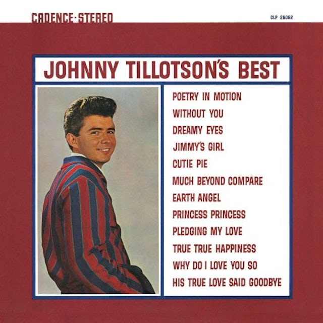 Johnny Tillotson IT KEEPS RIGHT ON A - HURTIN CD