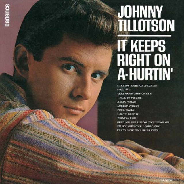 Johnny Tillotson YOU CAN NEVER STOP ME LOVING YOU CD