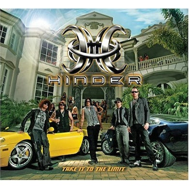 Hinder TAKE IT TO THE LIMIT CD