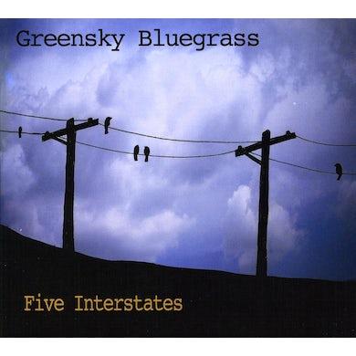 Greensky Bluegrass FIVE INTERSTATES CD