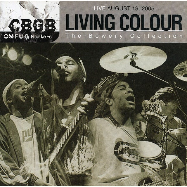 Living Colour CBGB OMFUG MASTERS: 8-19-05 BOWERY COLLECTION CD