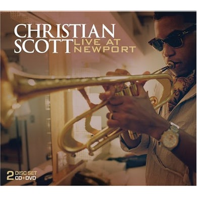 Christian Scott LIVE AT THE NEWPORT JAZZ FESTIVAL CD