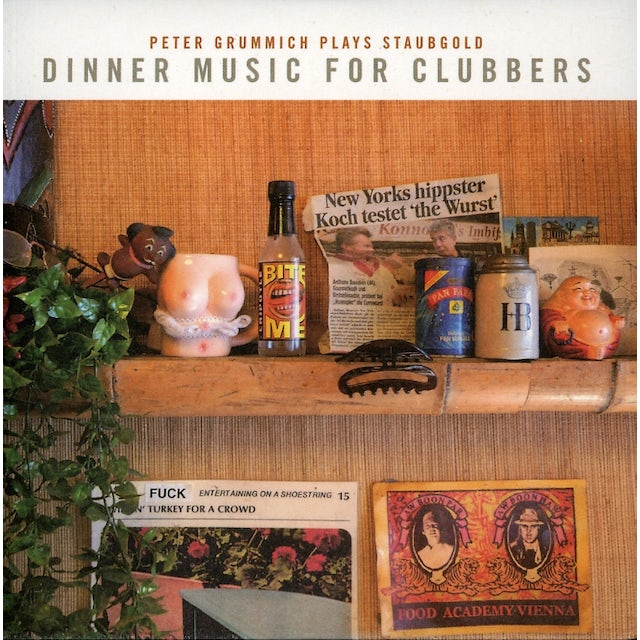 DINNER MUSIC FOR CLUBBERS: PETER GRUMMICH PLAYS CD