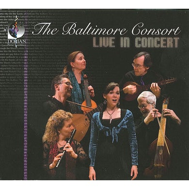 Baltimore Consort LIVE IN CONCERT CD