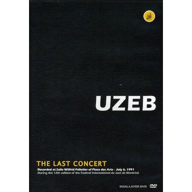 Uzeb LAST CONCERT DVD