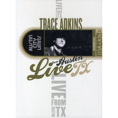 Trace Adkins LIVE FROM AUSTIN TX DVD