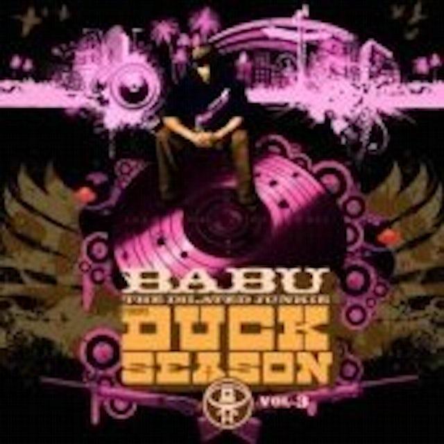 Dj Babu DUCK SEASON 3 CD
