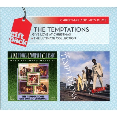 The Temptations CHRISTMAS & HITS DUOS CD