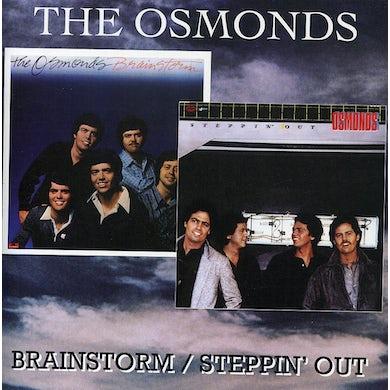 Osmonds BRAINSTORM / STEPPIN OUT CD