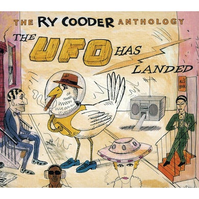 RY COODER ANTHOLOGY: THE UFO HAS LANDED CD
