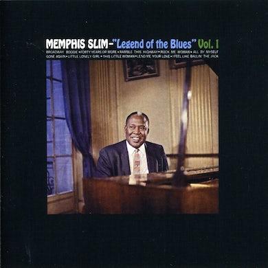 Slim Memphis  LEGEND OF THE BLUES 1 CD