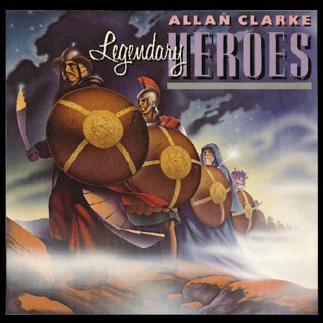 Allan Clarke LEGENDARY HEROES CD