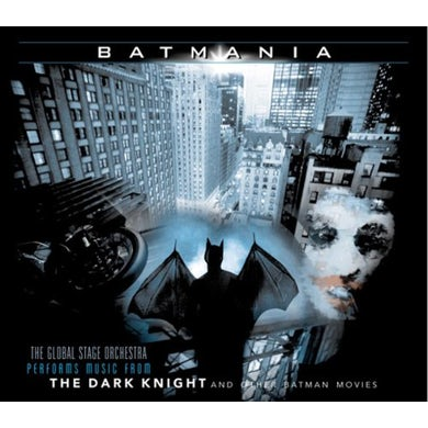 Global Stage Orchestra MUSIC FROM THE DARK KNIGHT & OTHER BATMAN MOVIES CD