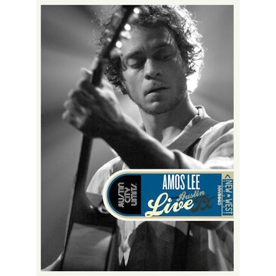 Amos Lee LIVE FROM AUSTIN TX DVD