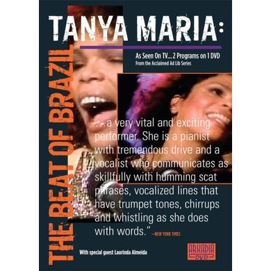 Tania Maria BEAT OF BRAZIL DVD
