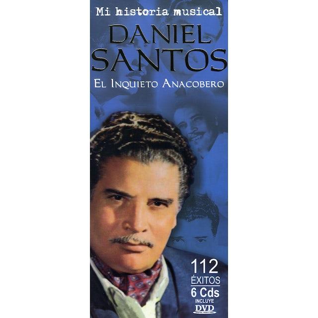 Daniel Santos MI HISTORIA MUSICAL ( EL INQUIETO ANACOBERO ) CD