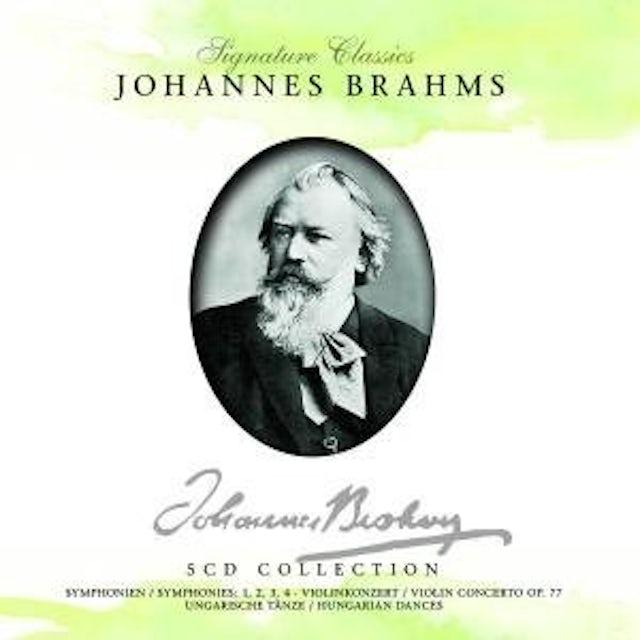 Johannes Brahms SYMPHONIEN & KONZERTE CD