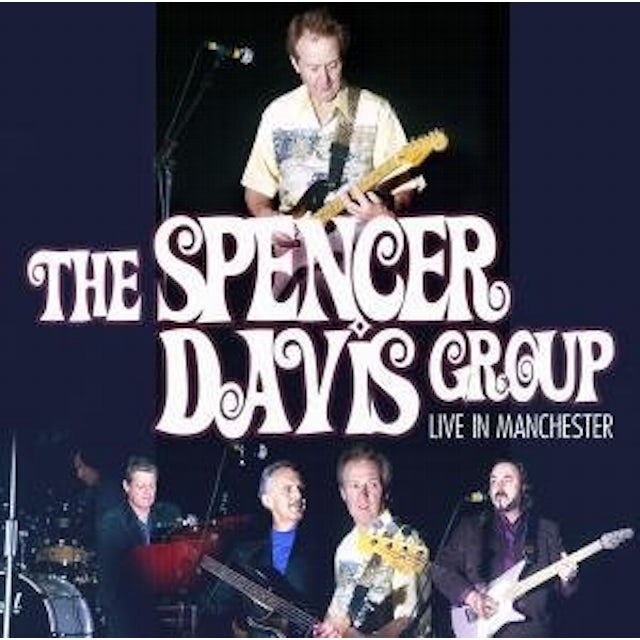 Spencer Davis Group LIVE IN MANCHESTER CD