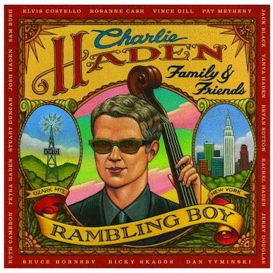 Charlie Haden FAMILY & FRIENDS: RAMBLING BOY Vinyl Record