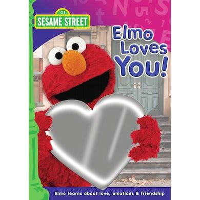 Sesame Street ELMO LOVES YOU DVD
